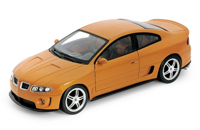 "Машина Welly ""PONTIAC GTO RAM AIR 6 2005"" метал. масштаб 1:24 в кор. - - 22468W"