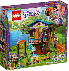 Конструктор LEGO Friends Домик на дереве Мии 351 деталь 41335