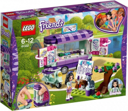 Конструктор LEGO Friends Мольберт Эммы 210 деталей 41332
